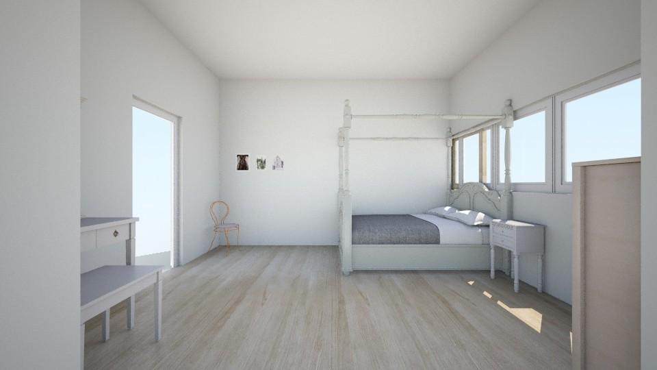 vintage room - Vintage - Bedroom - by Madelyn Kitteridge
