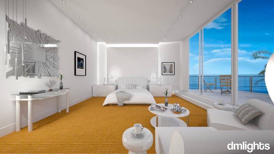 Ocean View - Modern - Bedroom  - by Claudia Correia