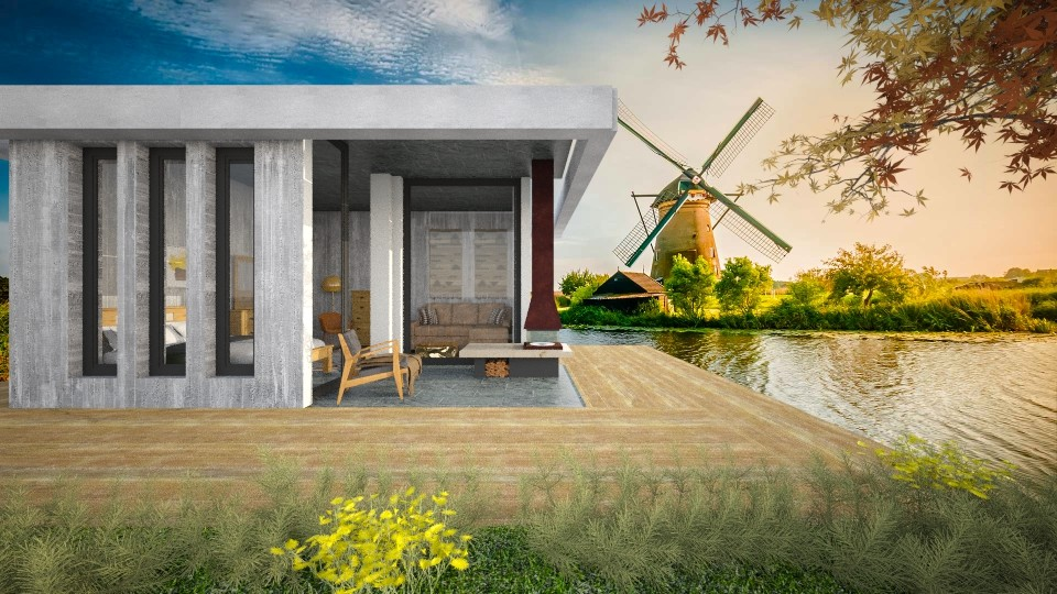 Dutch Holiday House - by DanielaIoanaEnescu