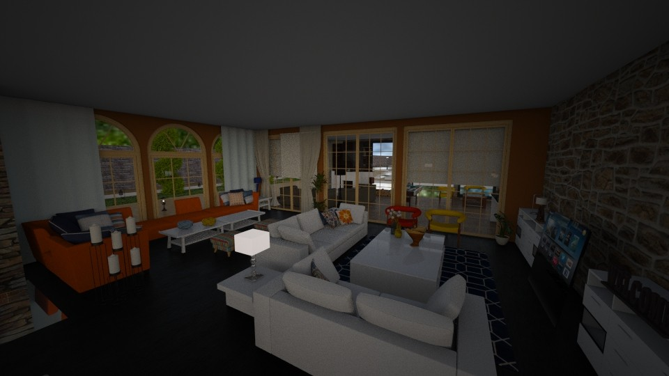 opening concept - Living room - by marija1706