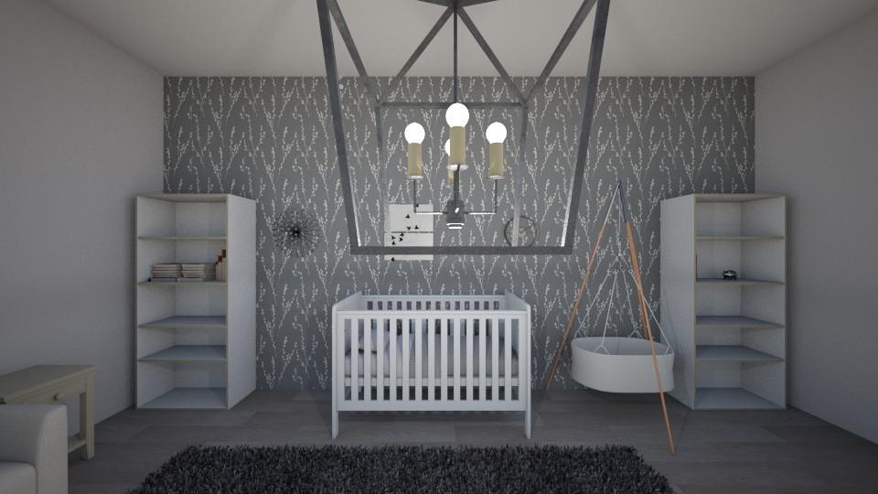 House 1 - Modern - Kids room - by cbruno23