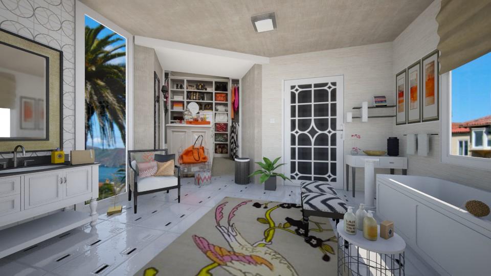Tropical Designer Bath - Bathroom - by steph01mami