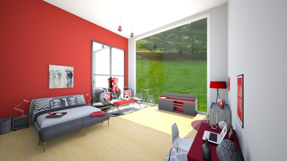 room - Bedroom - by pandabearjames