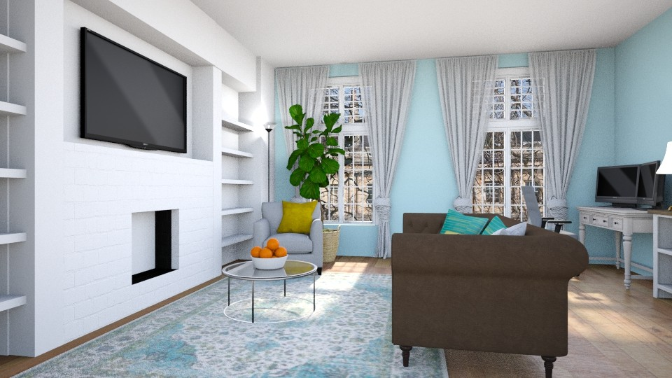 New Apt - Living room  - by AC74