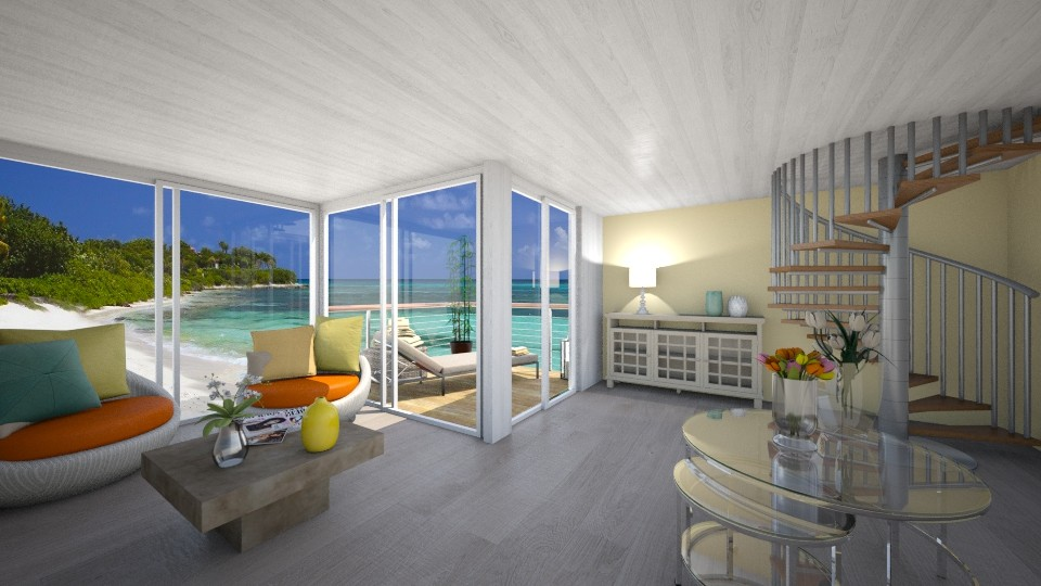 Beach Lounge - Living room  - by CarolinaB