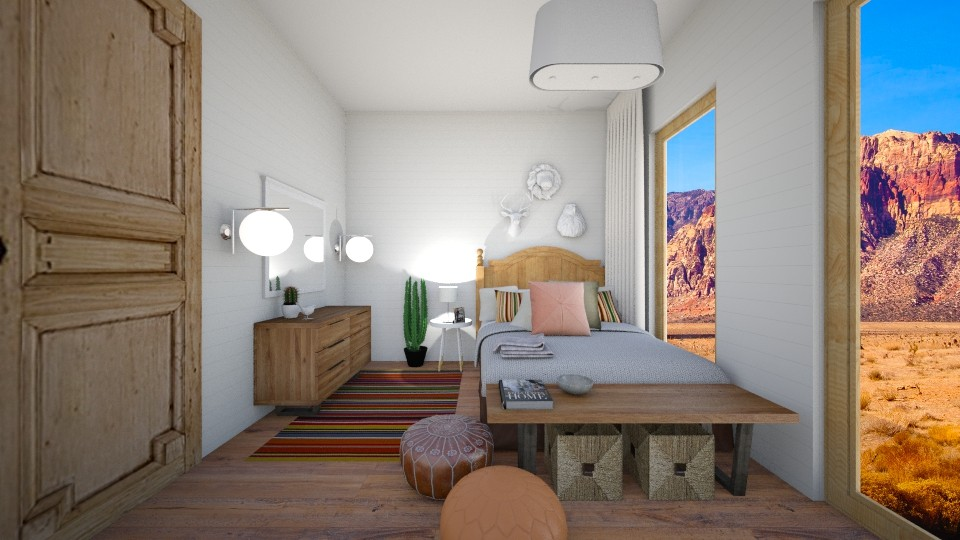 Desert Chic - Eclectic - Bedroom  - by Raquel Collison