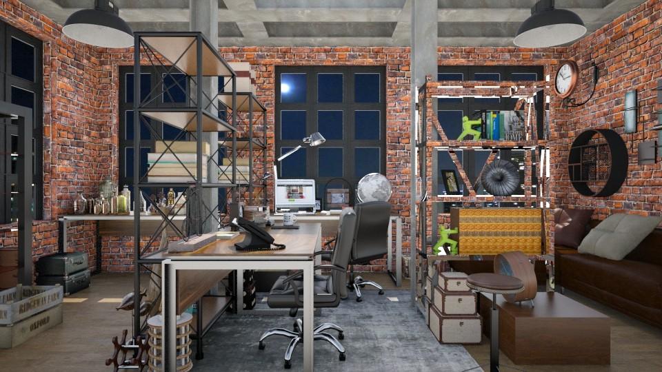 Barry Allen Office - by JayPH