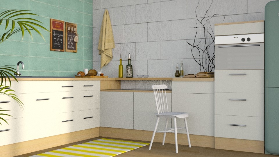 Summer Kitchen - Modern - Kitchen  - by stephendesign