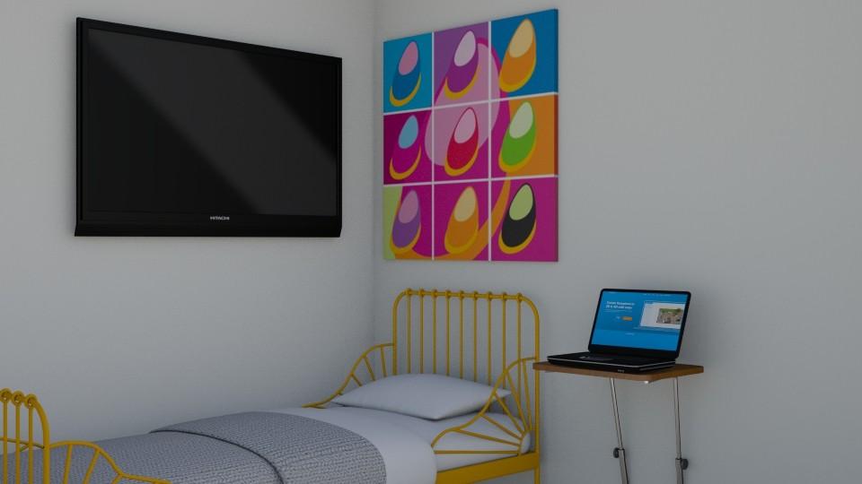 hi - Bedroom - by yellowkitty101