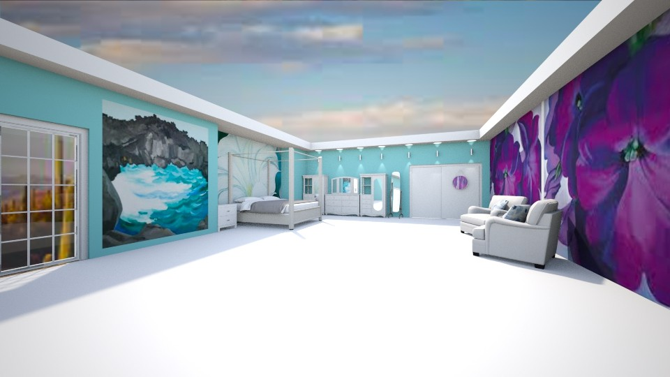 G OKeeffe Bedroom - Bedroom - by mydreamjob25