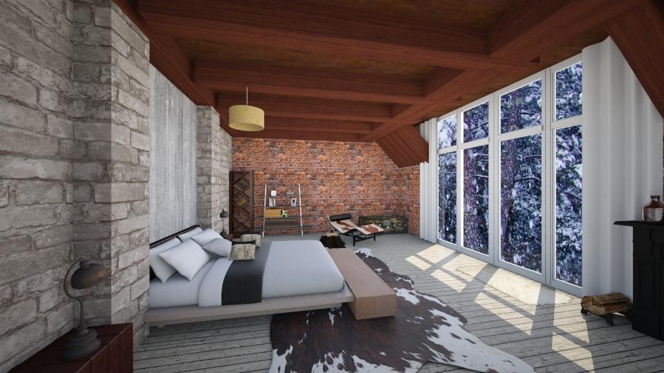 Frost - Bedroom - by genevivechen