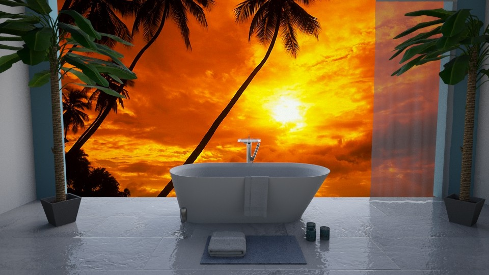 Tropical Luxury - Global - Bathroom  - by kyramargarete19
