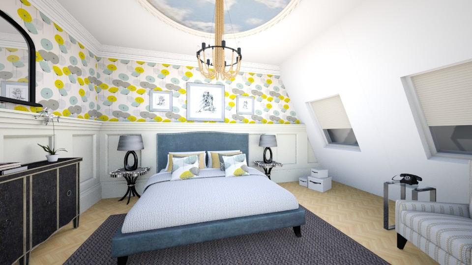 ELLE Bedroom - Glamour - Bedroom - by mclaraop