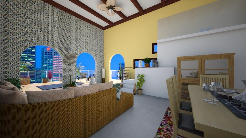 indoor to outdoor living - Living room - by Oftheyear18