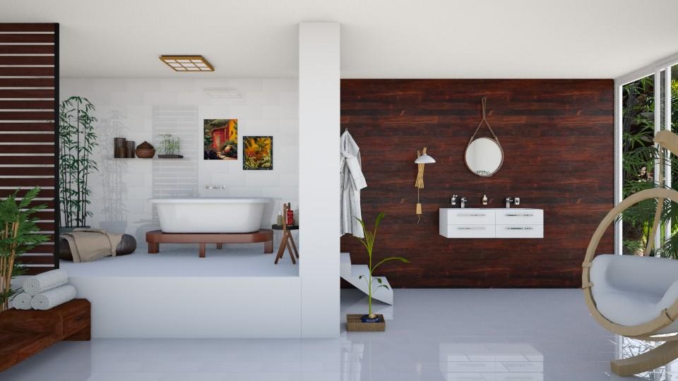 Exotic rest - Bathroom  - by agapka
