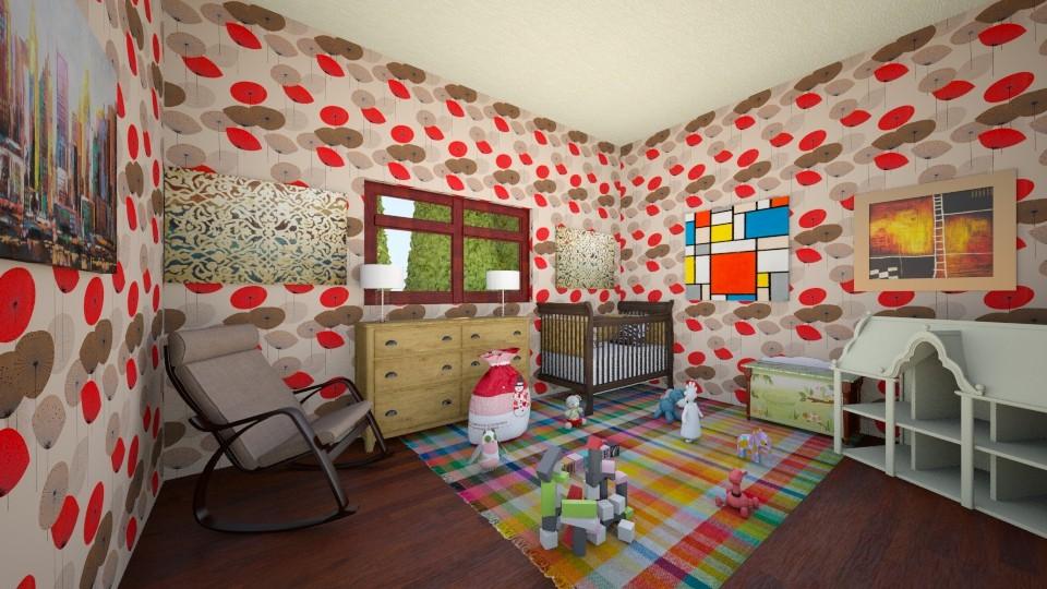Girl Nursery - Kids room - by scourgethekid