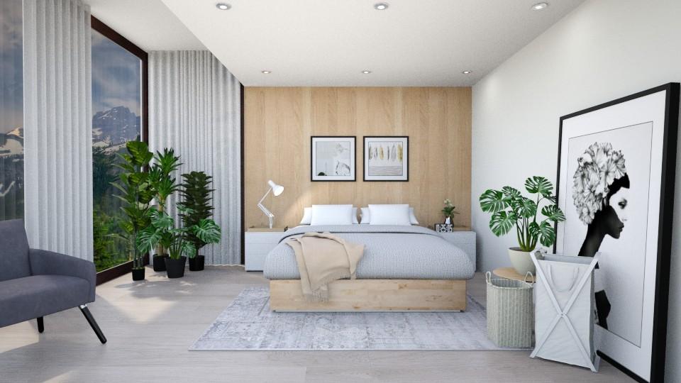 Minimalist Bedroom - Minimal - Bedroom - by fatihafitra