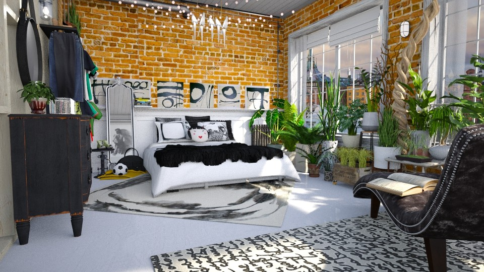 Urban - Eclectic - Bedroom - by starsector