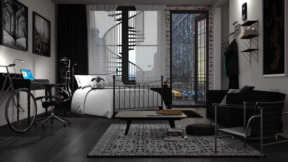 BnW  - Modern - Bedroom - by anchajaya