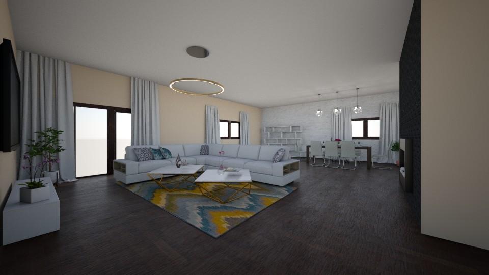 project 3 - Minimal - Living room - by Edyta Bak