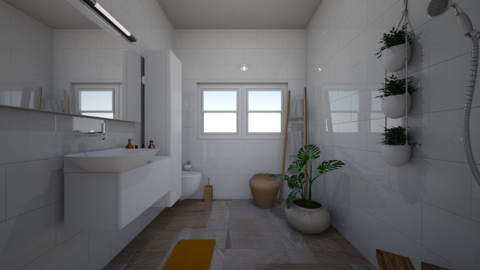 bathroom studio 5 - Minimal - by BlokhEphroni