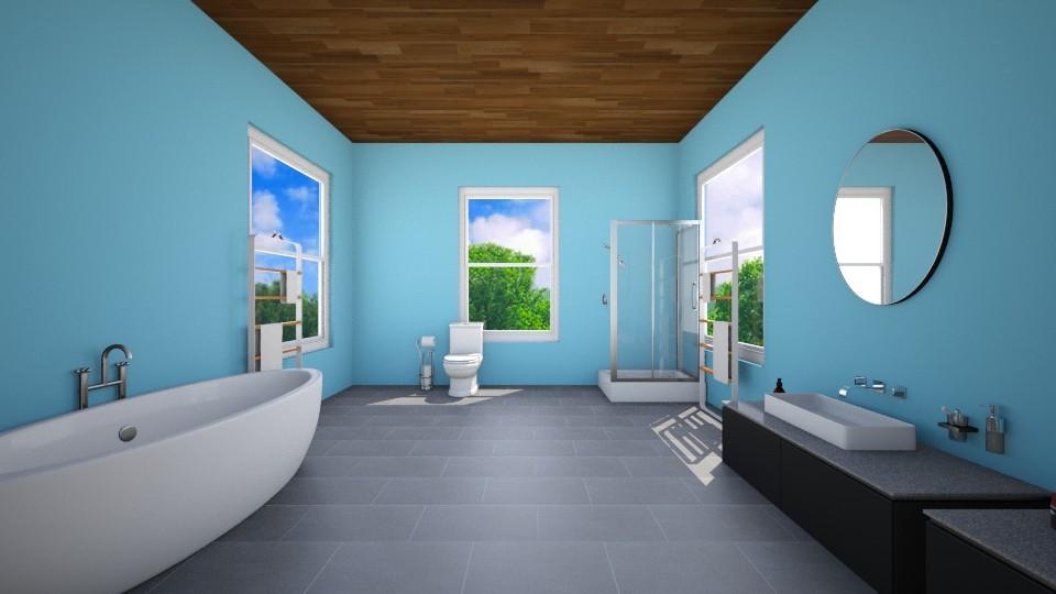 Master Bathroom - Modern - Bathroom  - by VibrantSplash