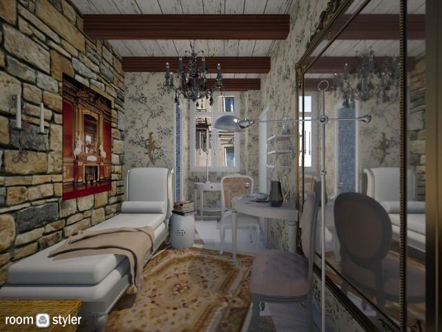 Paris tiny room - Living room - by arquicass