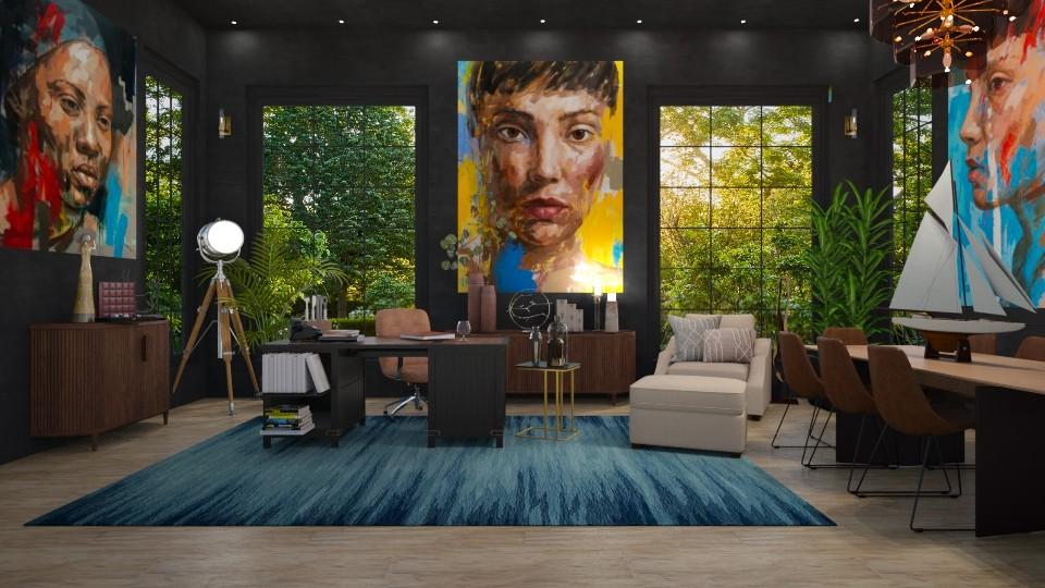 NY Home Office 3 - Office  - by JarkaK