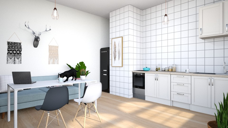 Scandinavian Kitchen - Minimal - Dining room  - by high_hopes