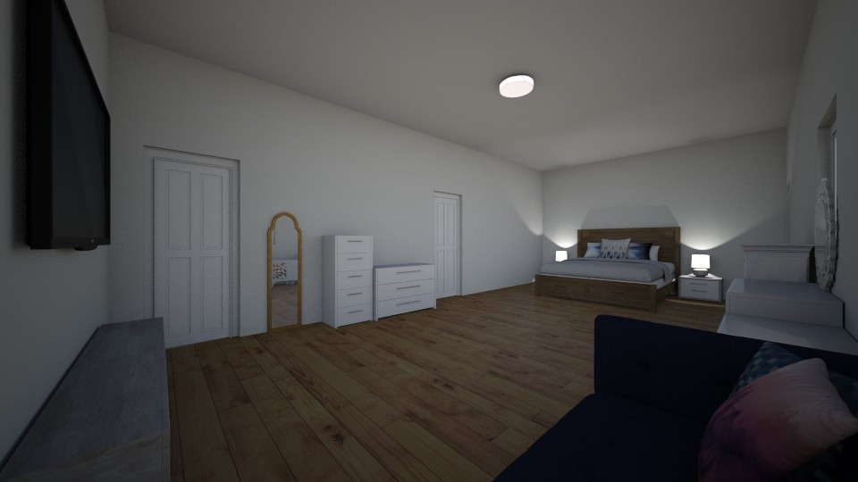 apartament 1  - Modern - by denisemtz_36