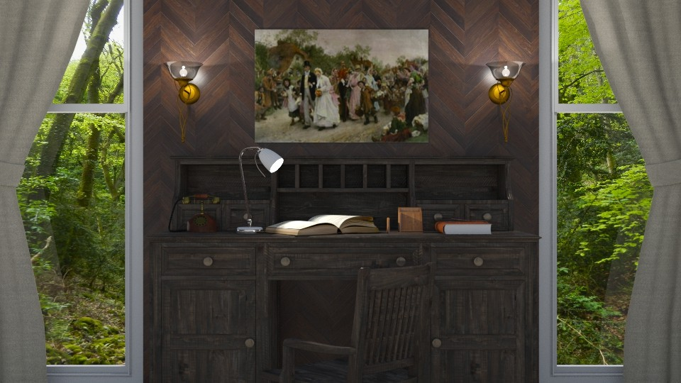 Rustic Office - by shahr