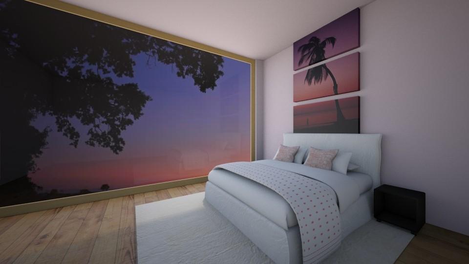 Pink Wonder - Bedroom  - by Itsjustme1