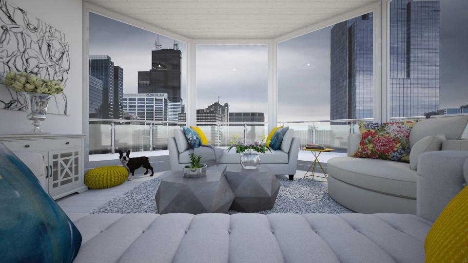 Hexa living - Living room - by Mesehabbal