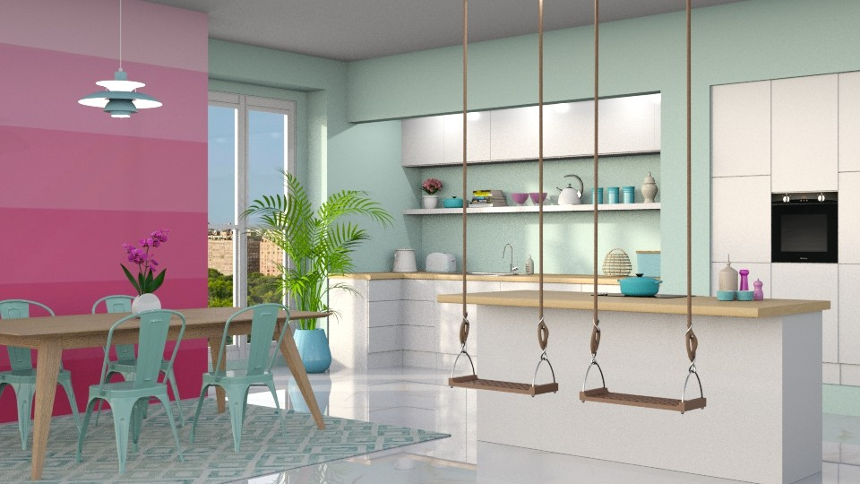 playful cooking - Kitchen - by LB1981