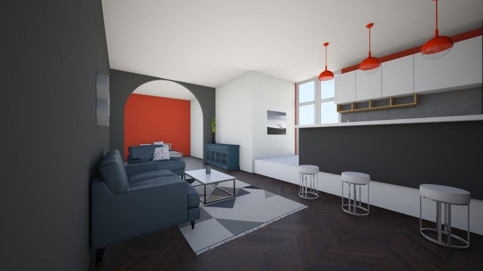 New york condo - Modern - Living room - by newyork4everloved