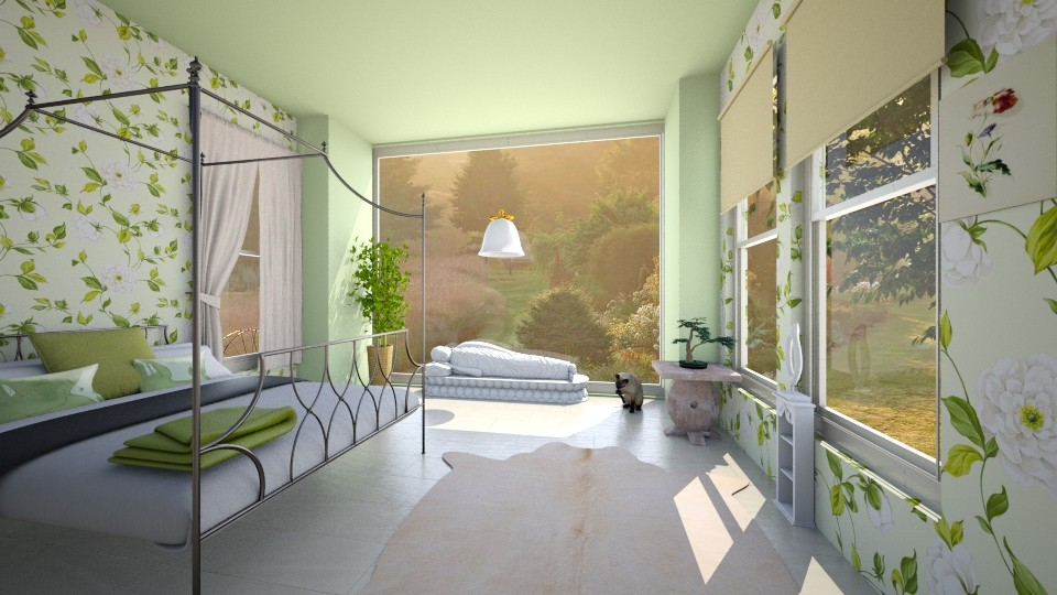 Summer House - Bedroom - by elle l