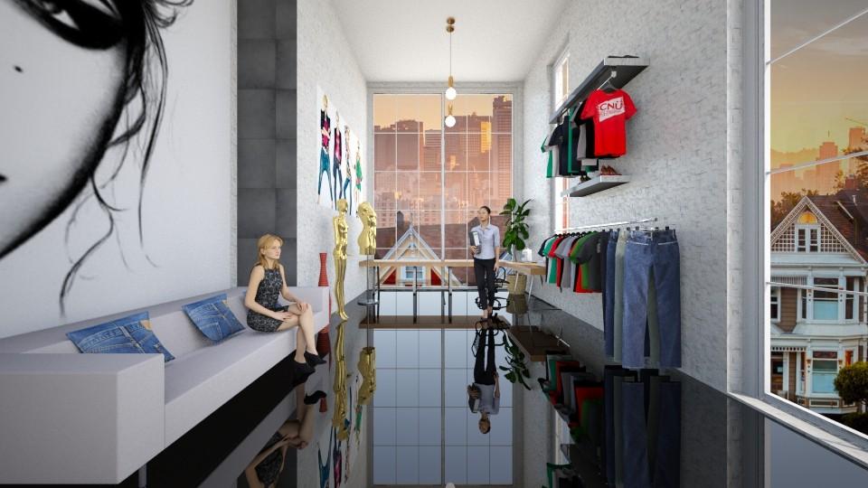 Fashion designers place - by Tara T
