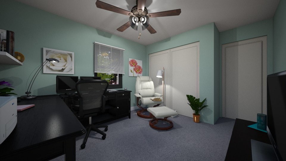 office in new house lV - Office - by SherryDW