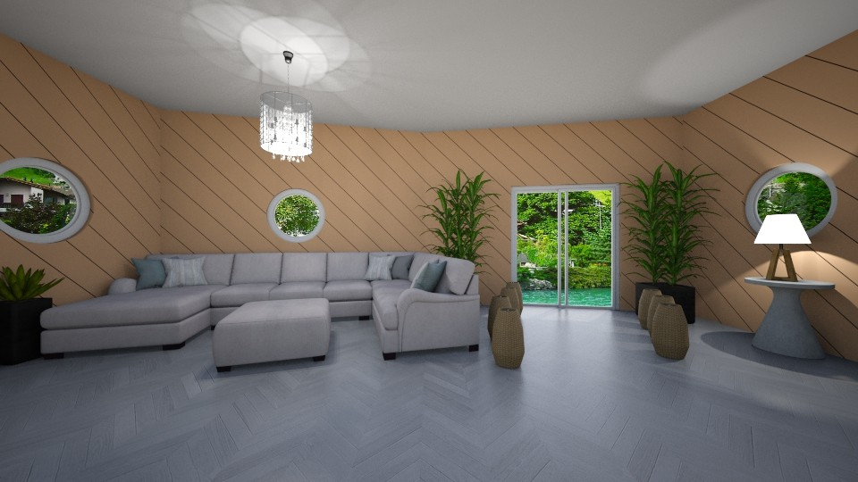 Vacation Living Room - Living room - by Anna Weyer