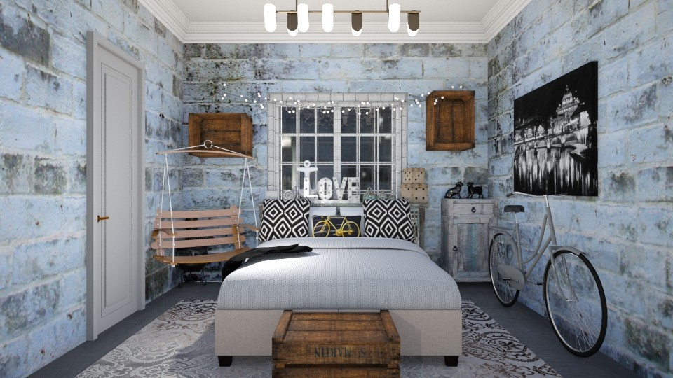bredroom love - Bedroom - by Jean Paul Gallardo