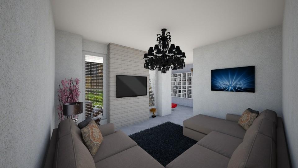 Living_1 - Living room - by Lucy Miranda
