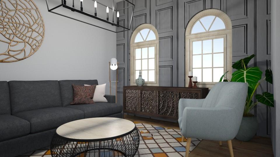 simples - Living room - by Jemima Carvalho