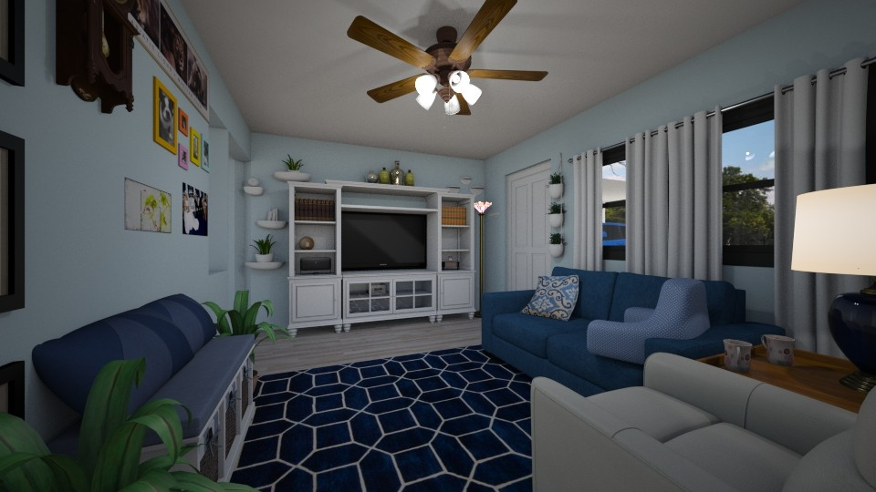 Our New House LR  2 - Living room - by SherryDW