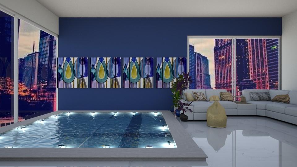 pool room - by aggelidi 12312