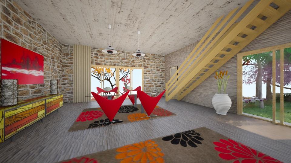 TuliP - Rustic - Dining room - by Saj Trinaest