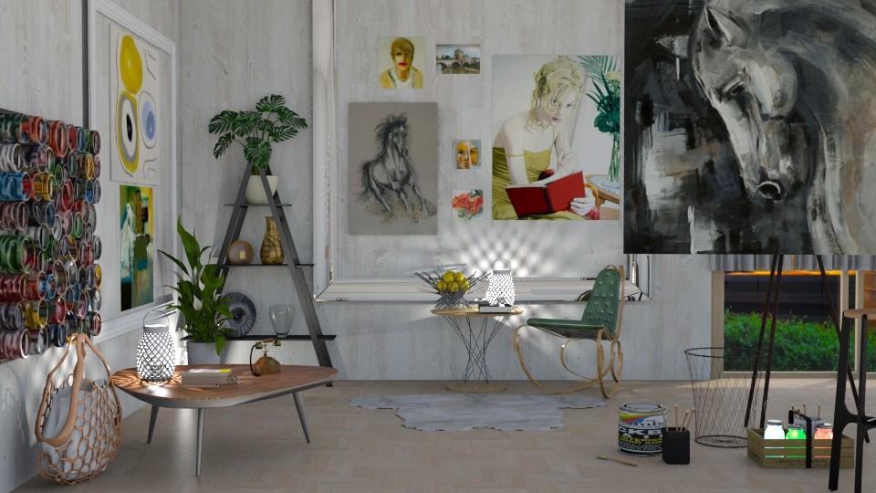 art - Office  - by snjeskasmjeska