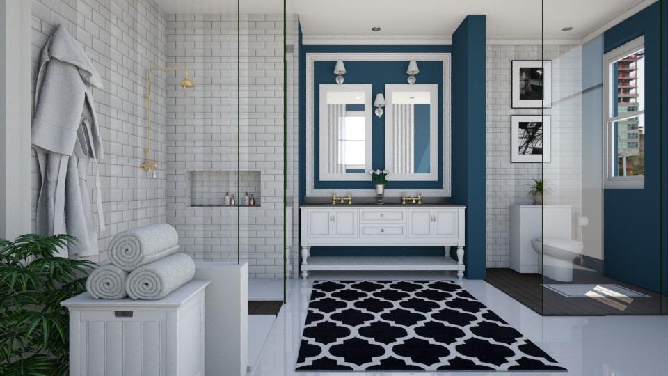 Tradicional - Bathroom - by Sanare Sousa
