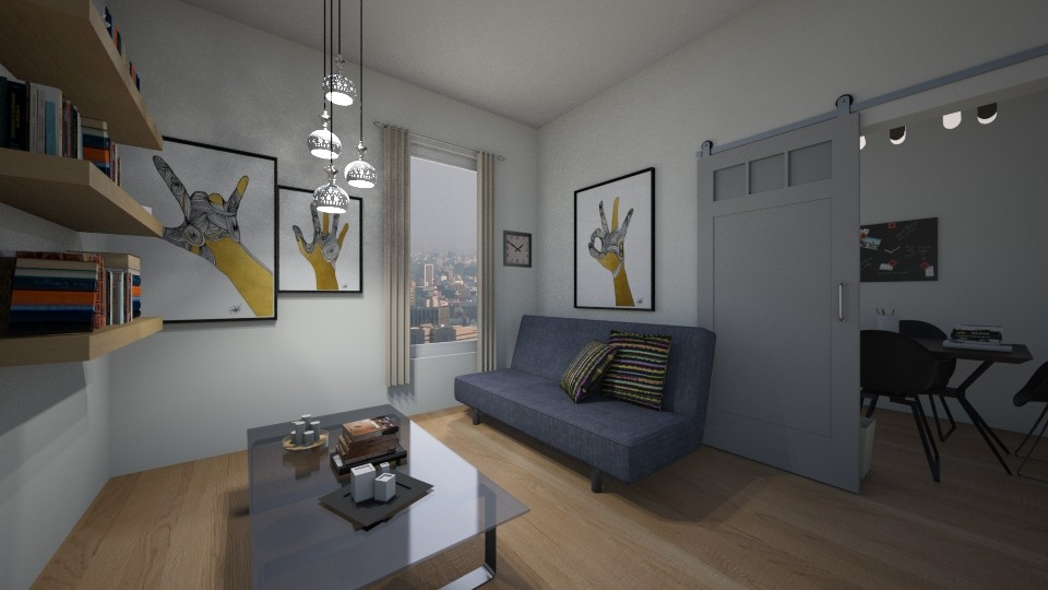Interview Waiting Room - Modern - Office - by salisha222