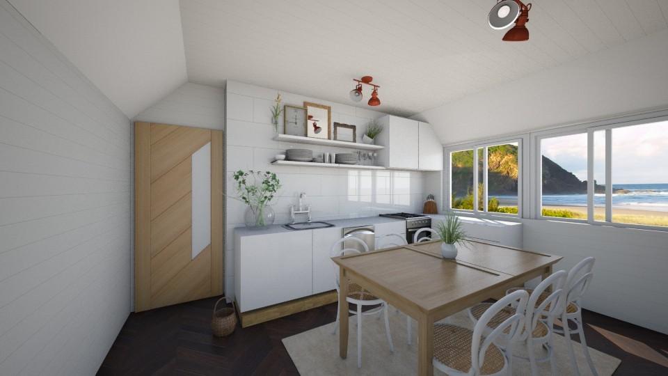 Summer in Byron Bay - Minimal - Kitchen - by madelinesworld