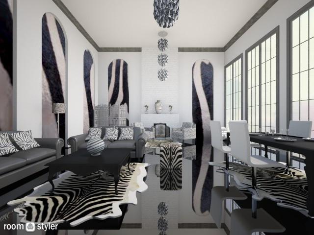 zebra - by rasty